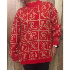 Sweaters - Vintage holiday sweater